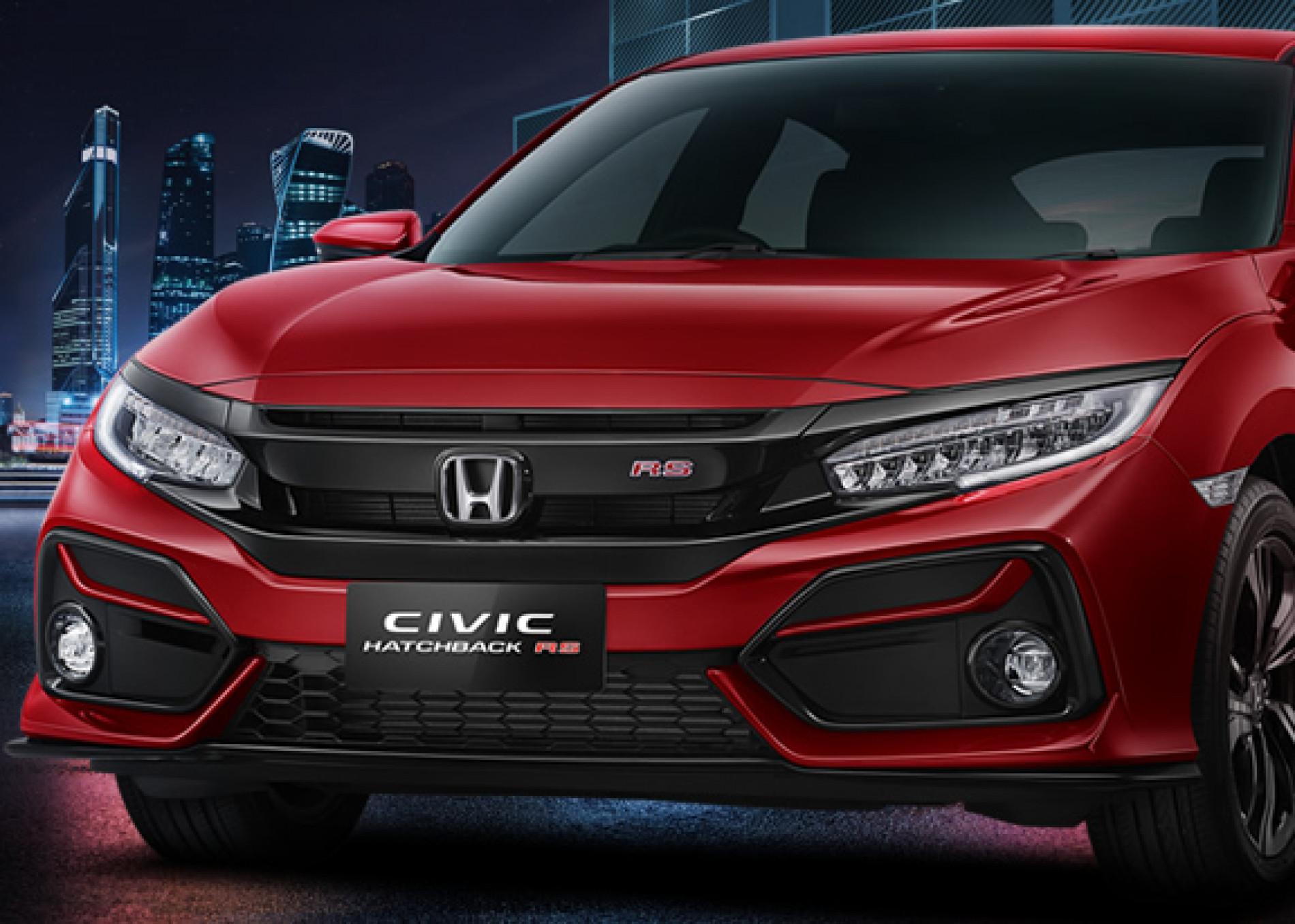 Honda Civic Depan OTR.id
