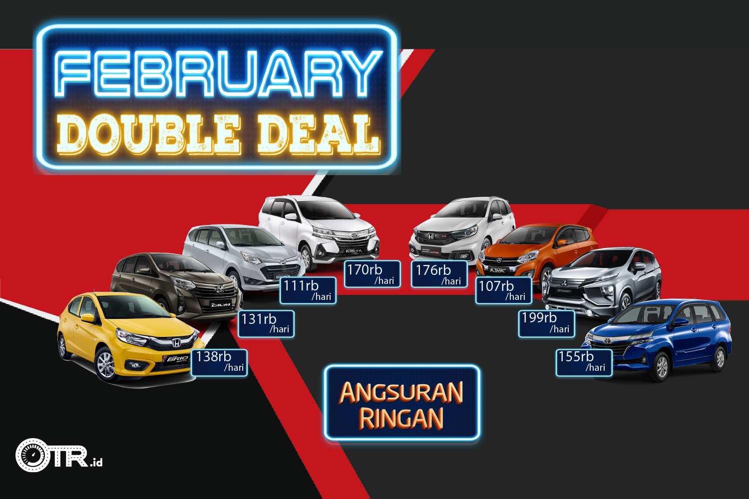 Promo February Cicilan Ringan Double Deal OTR.id