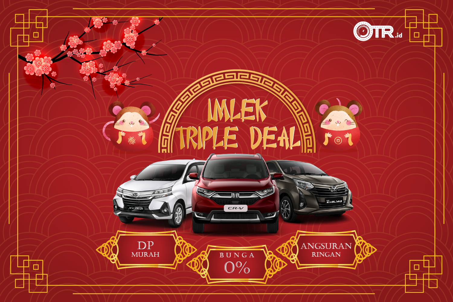 Promo Imlek Triple Deal OTR.id